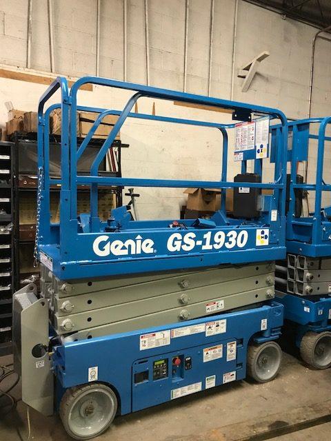 genie GS1930 used scissor lift