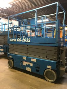 used scissor lift equipment