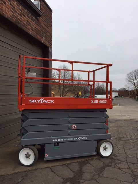 used skyjack scissor lifts lombard